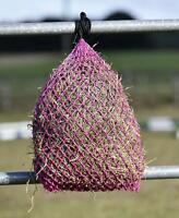 Heunetz LITTLE, kleine Fressöffnungen, kleines Netz für Shetty, Pony, pink