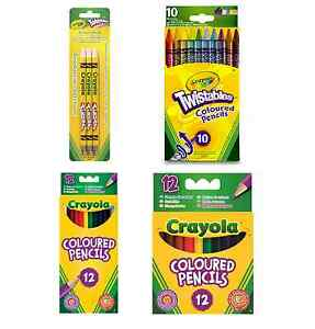 Crayola Branded Pencils Draw Colour Children School Stationery Office Kids Gifts