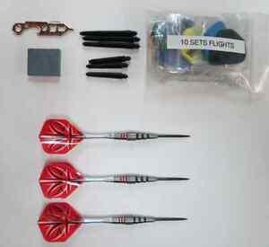 Bottelsen ABSTRACT-2 19g 90% Tungsten Steel Tip Dart Set darts flights shafts