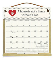 CAT SAYING CALENDAR WITH THE REST OF 2018, 2019 & AN ORDER FORM FOR 2020.