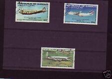 2104++DJIBOUTI  SERIE  AVIONS    1983