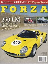 FORZA THE MAGAZINE ABOUT FERRARI # 56 OCTOBER 2004  250 LM ÉCURIE FRANCORCHMPS