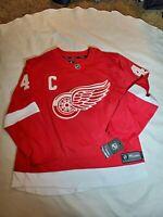Fanatics Detroit Red Wings Jersey #40 Henrik Zetterberg size Size Large