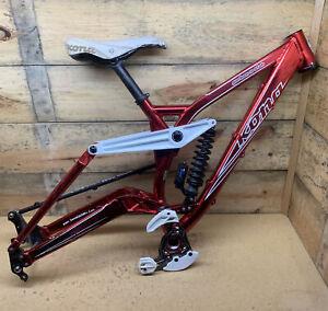 """Kona Garbanzo Stab Full Suspension Downhill Mountain Bike Frame Primo Stinky 26"""""""
