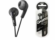 ORIGINALE JVC ha-fx5 Gumy In-Ear Cuffie Stereo Auricolari gommosa in Nero