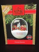 "Hallmark Keepsake Ornament ""Christmas Memories ""Magic Light & Motion Horse Wagon"