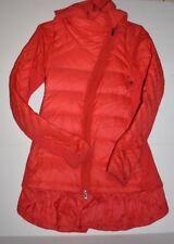 Lululemon Goose Down Puffer Ruffle Jacket w/ removable Fleece Layer Size 4