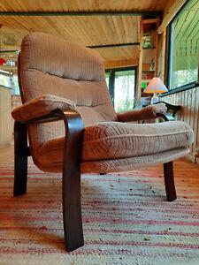Armchair Club Chair Vintage 60er Retro Easy Lounge Danish 70er Westnofa Era