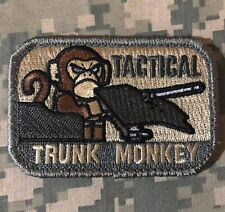 FLYING TRUNK MONKEY USA ARMY TACTICAL ACU LIGHT VELCRO® BRAND FASTENER PATCH