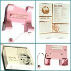 Melody Phone Vtg MCM 50's Pink Rotary Telephone Advertising Attachment,UNTESTED