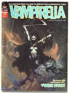 VAMPIRELLA #11 FA/F, 1st Pendragon, Frank Frazetta c, Warren Magazines 1971