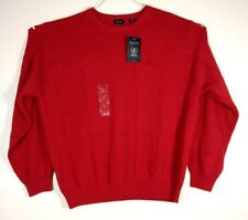 Izod red sweater mens big & tall SZ 2XL. NWT.  (C11)