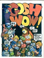 Gosh Wow Fanzine  #2     Summer 1962    VF    Published by Gateway Comic Collect
