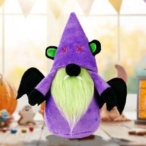 Halloween Plush Decor Cat Bat Frankenstein Faceless Gnome Pumpkin Decorations