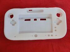 Silikoncase Schutzhülle Soft Cover für Nintendo Wii U Gamepad - WEISS -
