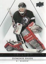 2013-14 Upper Deck Trilogy Hockey #15 Dominik Hasek Buffalo Sabres