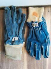 Lot Of 2 Pair Fireguard Crosstech Direct Grip Firefighter Fireman Gloves Xl
