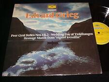 "GRIEG°PEER GYNT<>KRAUS RICHARD<>12"" Lp Vinyl~Canada Pressing<>DGG 2535 177"