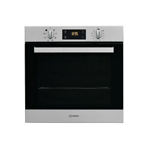 Indesit Aria Electric Fan Single Oven - Stainless Steel