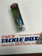 Rapala DT16 Balsa Wood Crankbaits New in Package Blue in Color