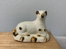 Antique English Early Staffordshire Lamb / Sheep Animal Figurine