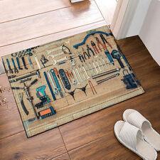 Bicycle tools Flannel Home Mat Bathroom Carpet Rug Non Slip Door Floor Mat Rug