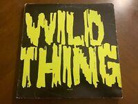 "X WILD THING VINYL 12"" ELEKTRA"