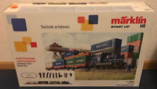 "Märklin Start up 29452 Eisenbahn H0 Start-Set ""Containerzug"" DHG 700 mfx Neu"