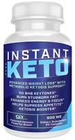 Instant Keto Weight Loss Pills Ketogenic Insta Supplement BHB 60 capsules BHB