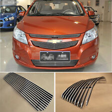 Aluminium Front Center Racing Grills Billet Grille Cover For Chevrolet Sail 2014