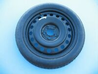 05-17 DODGE MAGNUM CHARGER CHALLENGER SPARE TIRE RIM COMPACT WHEEL 145/80/18 #1