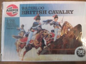 Airfix 1/72 Scale Waterloo British Cavalry 36 PCS
