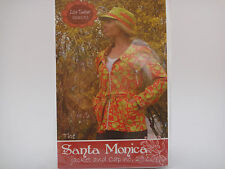 Lila Tueller Sewing Pattern #29, Santa Monica Short & Long Jacket & Cap, XS-XL