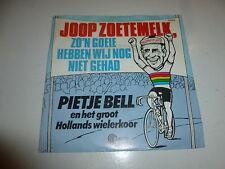 """PIETJE BELL EN HET GROOT HOLLANDS WIELERKOOR - 1985 2-track 7"""" Juke Box Single"""