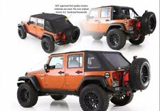 Smittybilt 2-in-1 Bowless Combo Soft Top 2007-2017 4dr Jeep Wrangler JK 9083235
