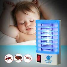 2 pz Zanzariera Elettrica Anti-Zanzare Insetti LAMPADE UV antizanzara Garan