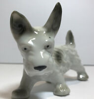 "Vintage 6"" China Dog Westie Scottish Terrier West Highland Porcelain"