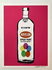 Petestreet Ltd Edition signed Absolut Print banksy MBW Absolut Krylon