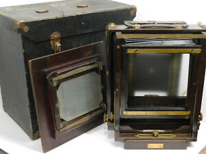 Vintage Ansco Large Format 8x10 Camera with 5x7 Reducing Back