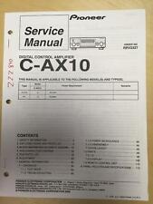 Pioneer Service Manual für die c-ax10 Control Verstärker Amp MP