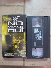 NO WAY OUT 2000 wwf vhs wrestling HELL IN A CELL