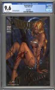 Darkchylde #0 CGC 9.6 Dynamic Forces Gold Foil Edition w/COA Ltd 2,500 (1998)
