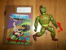 MOTU He-Man Figure Kobra Kahn Khan Complete with Mini Comic