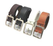 Men formal Leather Belt Pin Buckle belt Mens Business Belt Jeans Belts USA2