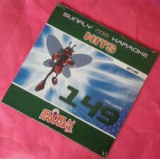 Karaoke CD+G disc, Sunfly Hits Vol 149, see Description 15 tracks/arts