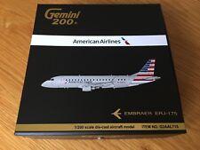 AMERICAN EAGLE Air Embraer ERJ-175 Gemini Jets Model 1:200 NEW LIVERY G2AAL715