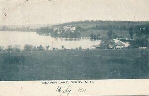 DERRY NH - Beaver Lake - 1911