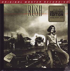 RUSH Permanent Waves 2007 MFSL Mobile Fidelity 24Kt Gold CD Digipak UDCD 772 NEW