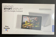 "New Lenovo Smart Display 8"" with the Google Assistant, SD-8501F - Free Shipping"