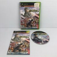 Godzilla Save the Earth Original Xbox Game Complete Tested